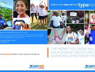 Brochure: JDRF One Walk