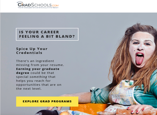 Marketing Email: Grad Schools