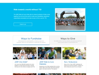 Website Copy: JDRF