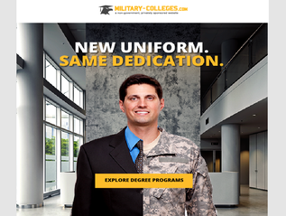 Marketing Email: Military Colleges