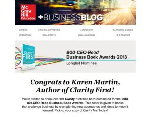 Monthly Newsletter: McGraw-Hill Business Blog