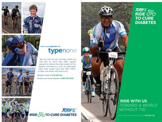 Brochure: JDRF Ride to Cure Diabetes
